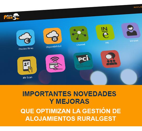 Ruralgest V11.0 PMS - GESTIÓN DE ALOJAMIENTOS