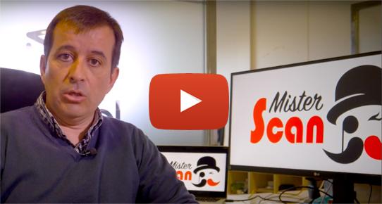 Nuevo Misterscan con firma de documentos, vídeo