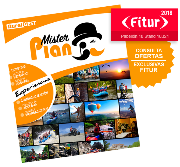 Misterplan - Ruralgest en FITUR 2018