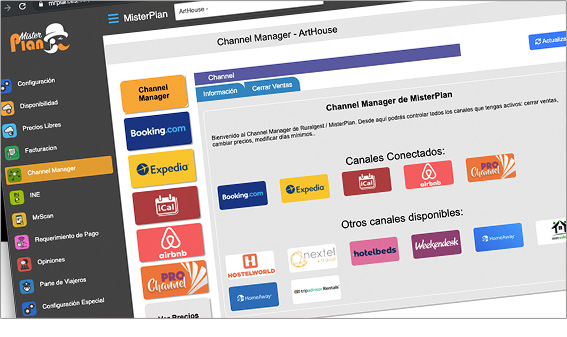 Channel Manager Misterplan